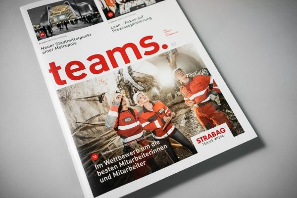 TEAMS_Das Magazin der Strabag SE