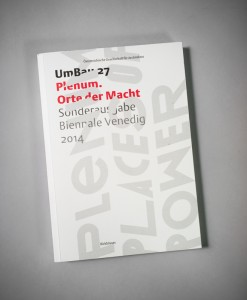 UMBAU 27_Birkhäuser Verlag